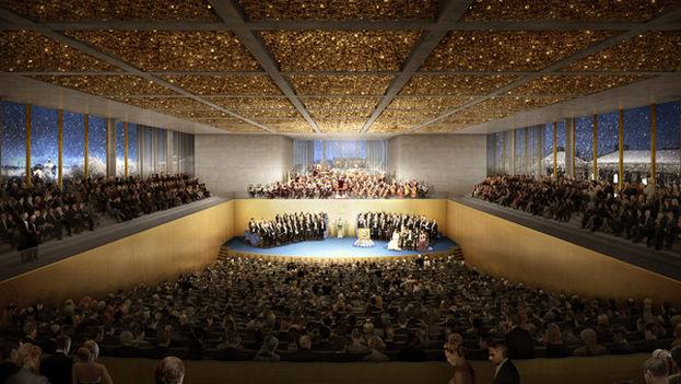Centro Nobel, Ceremonia de Premio Nobel (David Chipperfield Architects)