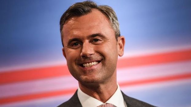 Norbert Hofer, candidato del partido ultraderechista FPÖ. (EFE)