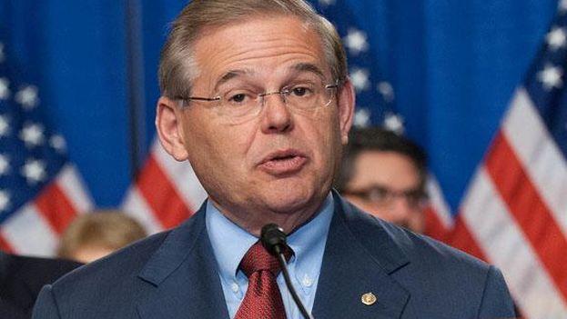 El senador por el Estado de Nueva Jersey, Robert Menéndez. (Facebook)