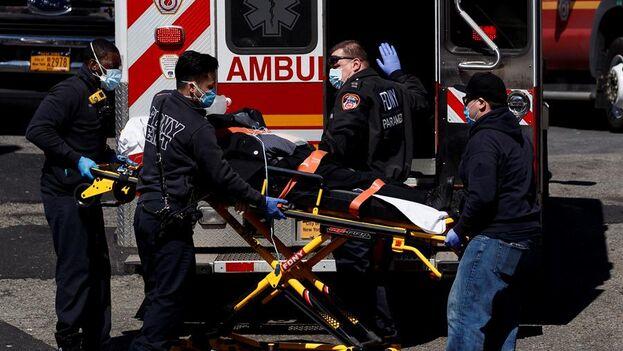 Nueva York empieza a estar desbordada y precisa de la ayuda del ejército. (EFE/EPA/Justin Lane)