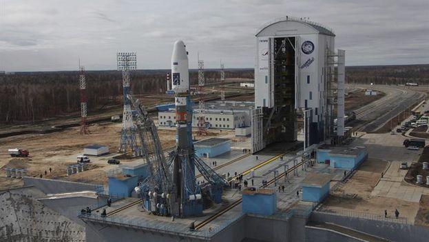 Nuevo cosmódromo ruso de Vostochni. (EFE)