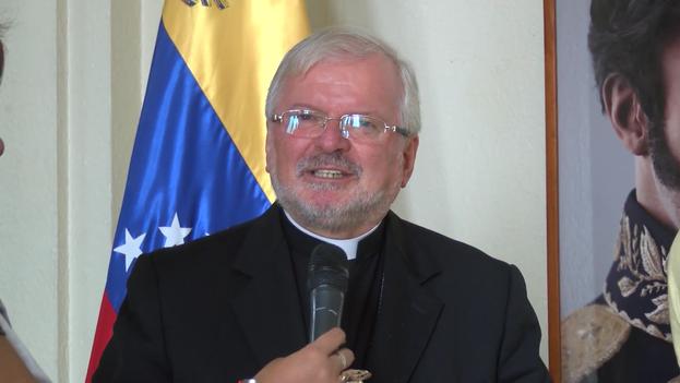 Aldo Giornado, nuncio apostólico en Venezuela. (captura)