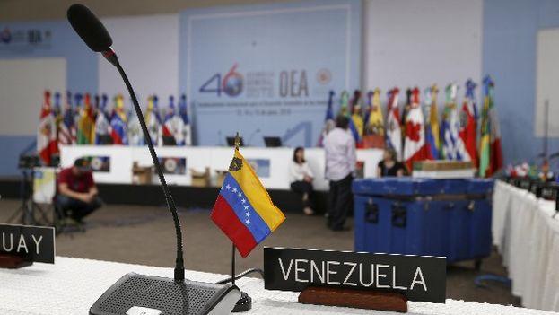 Un grupo de 14 países de la OEA urge a Nicolás Maduro a que programe un calendario electoral y que libere a los presos políticos. (EFE)