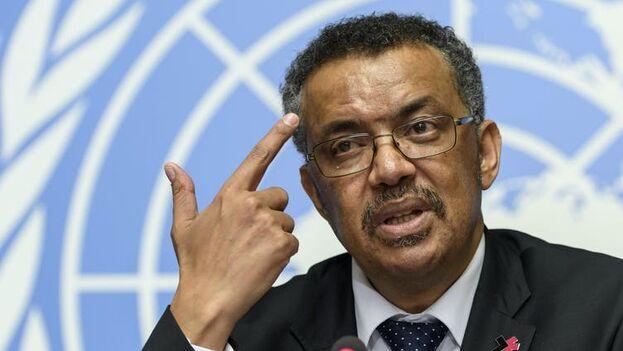 El director general de la OMS, el etíope Tedros Adhanom Ghebreyesus, ha sido acusado de haber confiado en exceso en la información que aportó China sobre el coronavirus. (EFE)