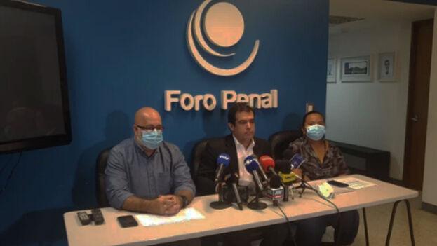 La ONG Foro Penal dio a conocer que 42 presos políticos se encuentran en una situación de salud crítica. (Captura)