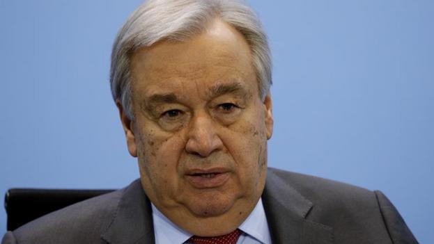 El secretario general de la ONU, António Guterres, mantuvo una reunión esta semana con el representante permanente de Cuba ante Naciones Unidas. (EFE)