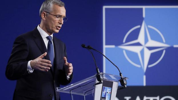 El secretario general de la OTAN, Jens Stoltenberg, en una imagen de archivo. (EFE/EPA/Olivier Hoslet)