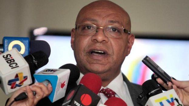 Jesús Escobar, director del Observatorio Venezolano de Seguridad Ciudadana. (EFE)