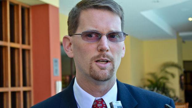 Mark Wells, coordinador de la Oficina de Asuntos Cubanos del Departamento de Estado. (The Tico Times)