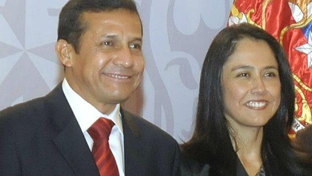 Ollanta Humala y Nadine Heredia durante un viaje oficial en Chile en 2011. (Gobierno de Chile/ CC)