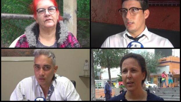 Ordaima, José, Marta y Luis. Son solo cuatro nombres de los 10.000 cubanos varados en México a la espera de asilo en Estados Unidos. (EFE)