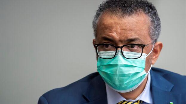 El director general de la Organización Mundial de la Salud, Tedros Adhanom Ghebreyesus. (EFE/EPA/Martial Trezzini/Archivo)