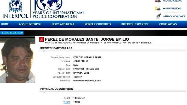 El arresto del sospechoso, nacido en La Habana, fue llevado a cabo por agentes de la Guardia Civil a petición de la Organización Internacional de Policía Criminal (Interpol)