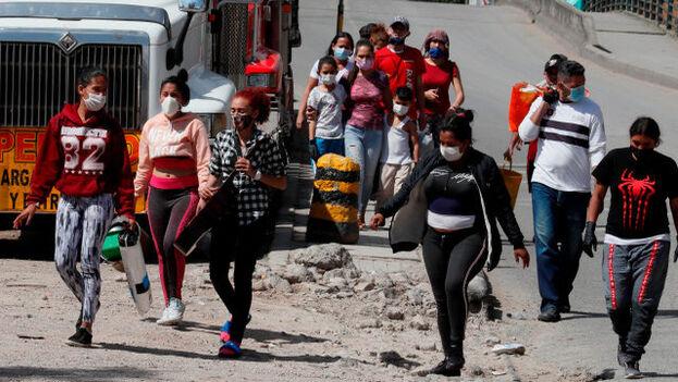 Con la declaración de la pandemia por parte de la Organización Mundial de la Salud en marzo pasado, la mayoría de los países centroamericanos cerraron sus fronteras. (EFE)