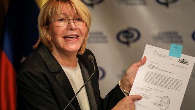 Venezuela: fiscal recusa a magistrados antes de audiencia por juicio contra ella