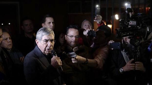 """Óscar Arias dijo este viernes que """"el sueño de la revolución sandinista dejó de ser una quimera para convertirse en una pesadilla"""". (EFE)"""