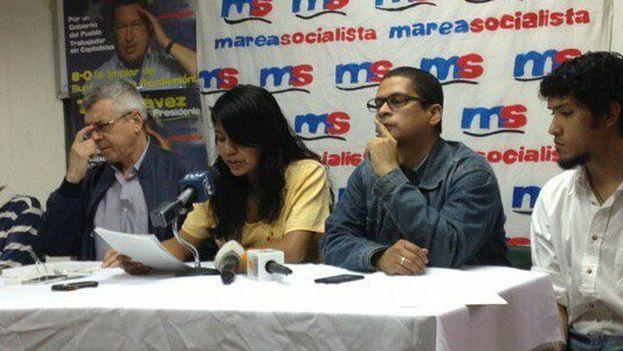 La marea socialista es una corriente crítica con el PSUV desde que Maduro sustituyó a Chávez tras su fallecimiento. (@MareaSoc89)