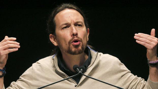 El partido de Pablo Iglesias, Unidos Podemos no logró alcanzar los objetivos que se propusieron. (EFE)