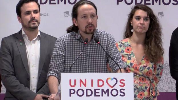 Pablo Iglesias, líder de Podemos, partido político de izquierda español. (El Español)