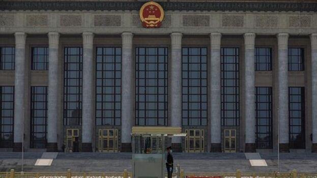 El próximo 22 de mayo se escenificará en el Gran Palacio del Pueblo de Pekín la derrota de un virus que obligó a retrasar la cita política del año en China. (EFE)
