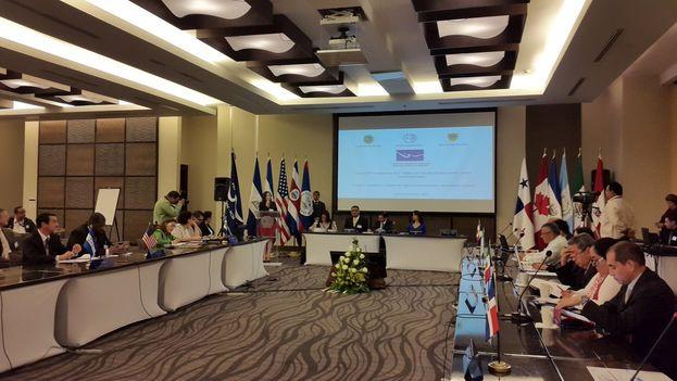 La reunión en Panamá sobre Migración tuvo una alta participación de autoridades nacionales y extranjeras. (@migracionpanama)