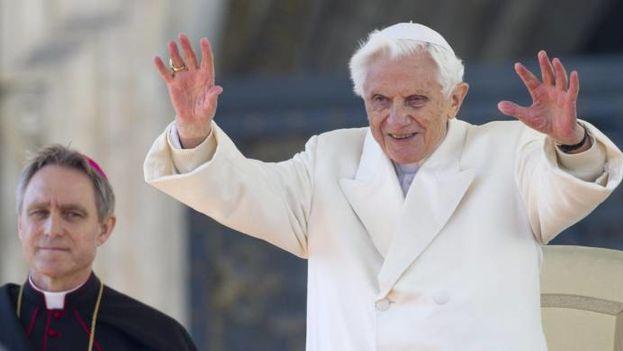 El Papa emérito Benedicto XVI. (Archivo)