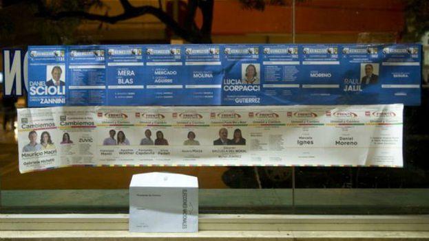 Papeleta electoral de Catamarca, de 1,20 cm