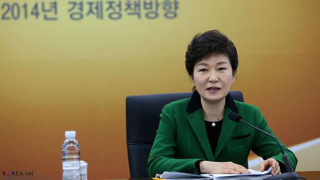 Park Geun-hye, presidenta de Corea del Sur. (Flickr)