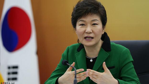 Park Geun-hye, presidenta surcoreana destituida por el parlamento. (Flickr)