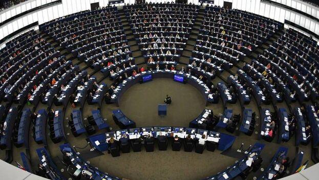 Pleno del Parlamento Europeo en Estrasburgo, Francia. (EFE/Archivo)
