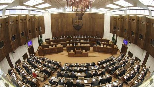 Parlamento eslovaco.
