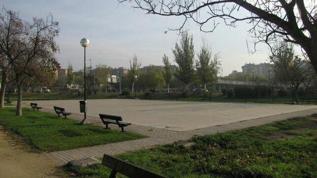 El Parque Ernesto Che Guevara está situado en la periferia de la capital aragonesa en la calle que lleva el mismo nombre. (EFE)