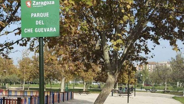 A partir de ahora el Parque Che Guevara se llamará Teresa Perales. (Google maps)