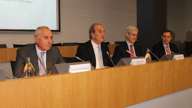 Participantes en el encuentro empresarial España-Cuba. (CEOE)