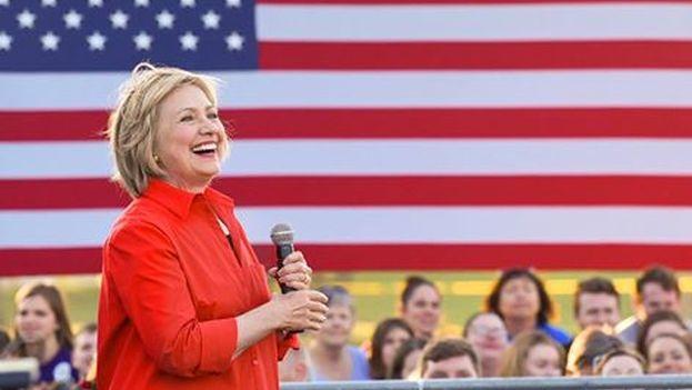 La virtual candidata a la Casa Blanca del Partido Demócrata, Hillary Clinton. (Facebook)