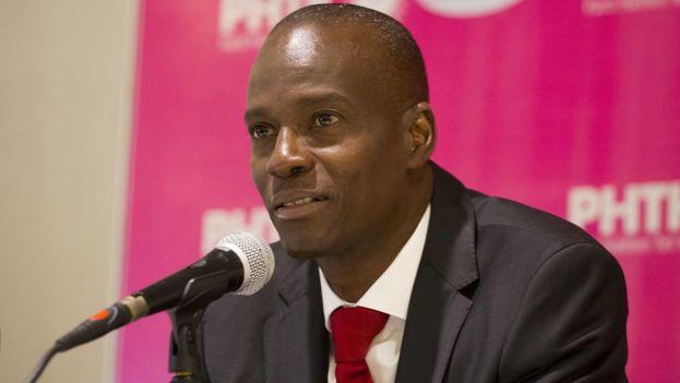 El candidato del Partido Haitiano Tet Kale (PHTK), Jovenel Moise, ganó con un 55,67 % de los votos las elecciones presidenciales de Haití. (EFE)