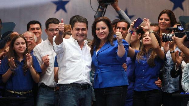 El candidato presidencial del gobernante Partido Nacional de Honduras, Juan Orlando Hernández. (EFE)
