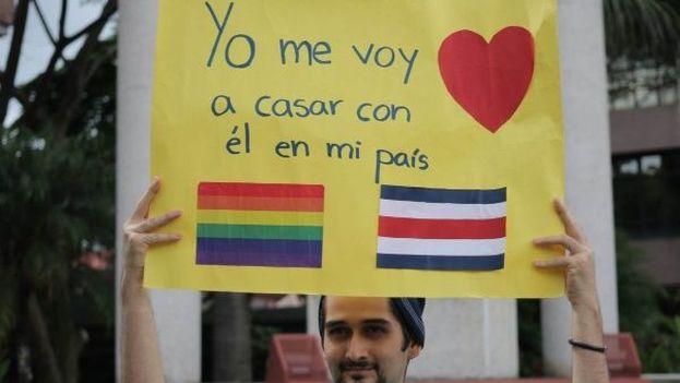 Los partidos más conservadores, como el evangélico Partido Restauración Nacional, mantienen su oposición al matrimonio igualitario. (Noticias TM)