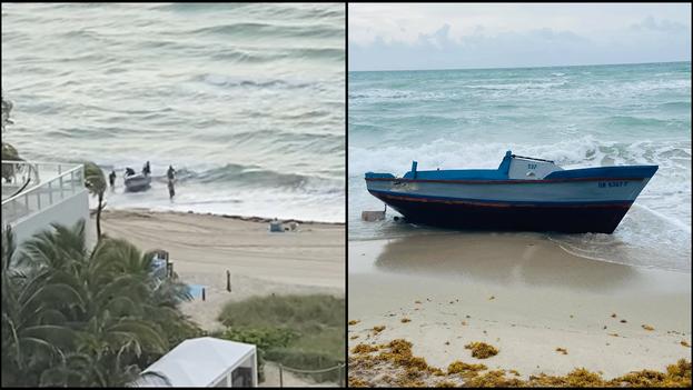 La Patrulla Fronteriza informó que los migrantes entraron al país por Hallandale Beach. (Collage)