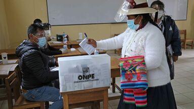 Pedro Castillo y Keiko Fujimori se medirán en la segunda vuelta de las elecciones peruanas. (EFE)