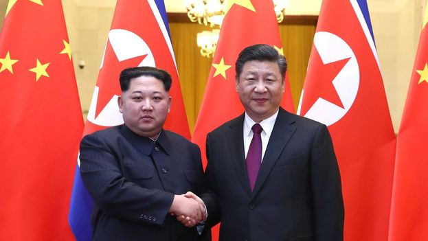 Pekín y Pyongyang descongelan sus lazos con esta visita secreta de Kim Jong-un. (Xinhua)