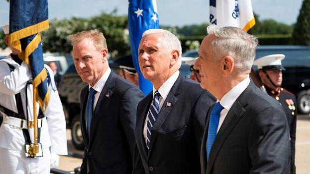 Mike Pence ha dicho que el Gobierno ha dado instrucciones al Capitolio para que destine 8.000 millones de dólares en los próximos años, con el objetivo de que esta nueva rama del Ejército esté operativa en 2020. (EFE)