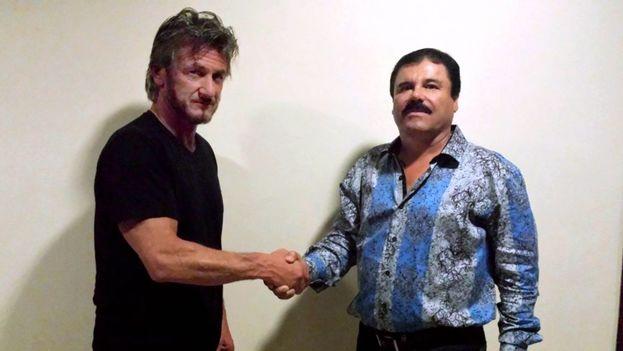 Sean Penn y el Chapo Guzman. (Rolling Stone/Sean Penn)