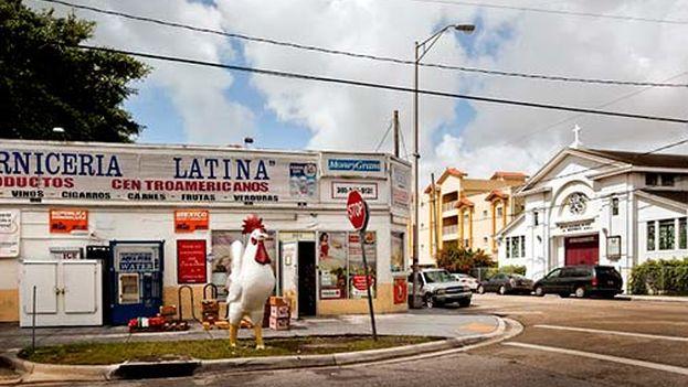Esquina de La Pequeña Habana. (Urban Enviroment League/ Kim Scott)