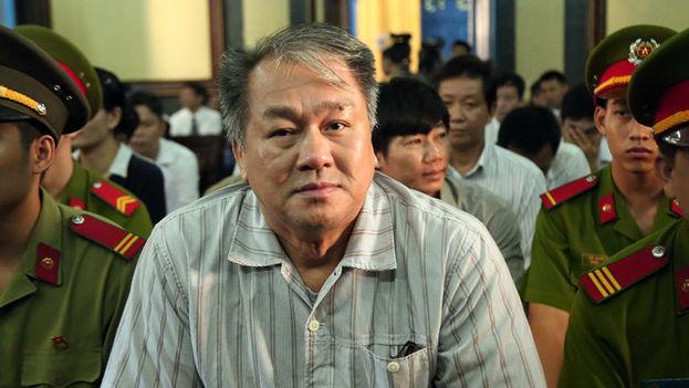 Pham Cong Dahn ya fue condenado en 2016 por un caso de corrupción bancaria y deberá pasar en total 30 años entre rejas. (Đào Ngọc Thạch)