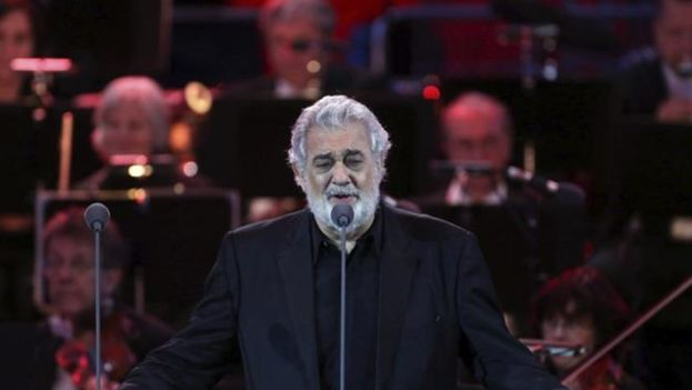 Plácido Domingo cantará en Cuba por primera vez el próximo sábado. (EFE)