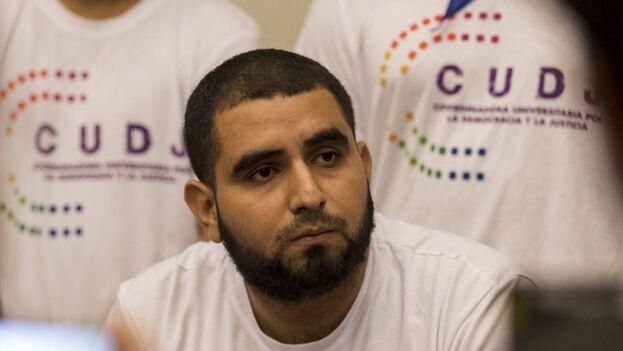 El opositor nicaragüense Ariel Sotelo, uno de los acosados por la Policía de Daniel Ortega. (EFE/Jorge Torres/Archivo)