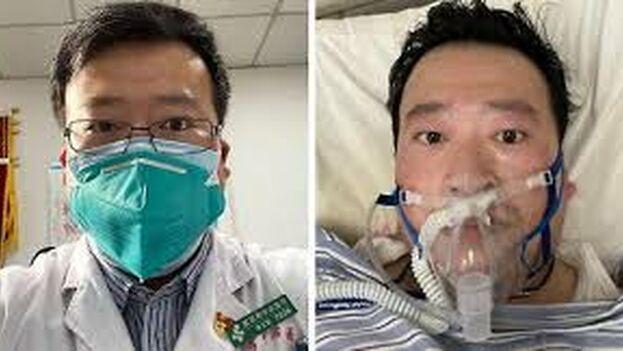"""La Policía local acusó a Li Wenliang de """"propagar rumores"""", lo que en China puede suponer 7 años de prisión."""