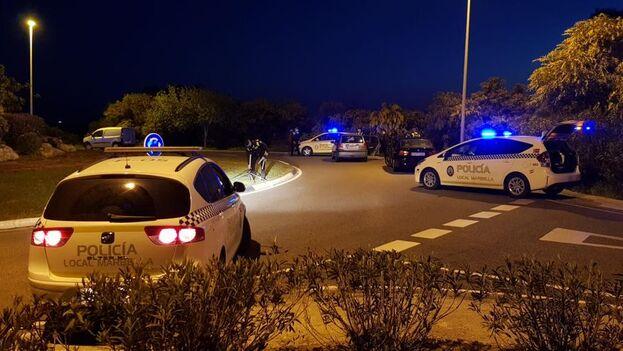 Policía Local de Marbella, en Málaga, donde se ha frustrdo el asesinato del costarricense. (Policía)