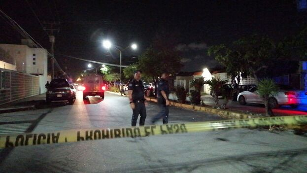 La Policía detuvo a cinco personas relacionadas con el secuestro en un 'call center' de Cancún. (Noticaribe)